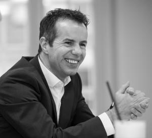 """adensio-Geschäftsführer Jörg Rietsch: """"Wir hatten dieses Mal mehr Zeit für die Workshops eingeplant und uns insgesamt für einen sehr entspannten Ablauf entschieden. So hatten die Besucher auch Zeit, um Kontakte zu knüpfen. Das erfolgreiche Konzept wollen wir auch für den ProjektKULTURtag 2016 beibehalten."""" Bild: adensio GmbH"""
