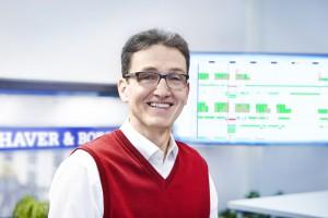 """Andreas Bauer: """"Wir haben eine hohe Transparenz in der Fertigung und können agieren anstatt zu reagieren."""""""