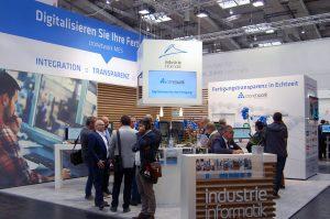 Auch der österreichische MES-Spezialist Industrie Informatik ist wieder auf der Digital Factory vertreten. Bild: Industrie Informatik